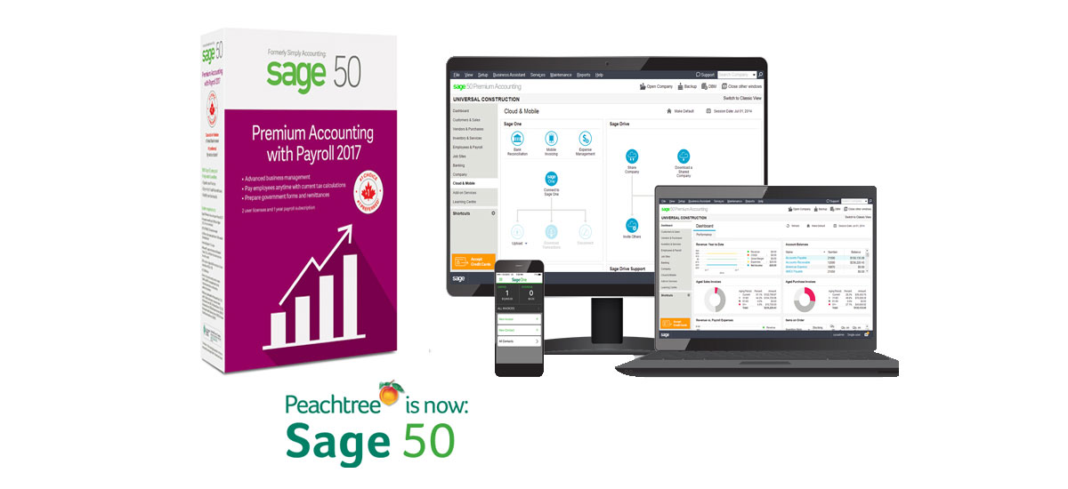 Sage 50 CA Premium Accounting